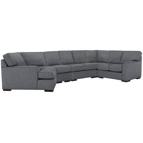 left cuddler sectional sofa city furniture blue fabric large left cuddler