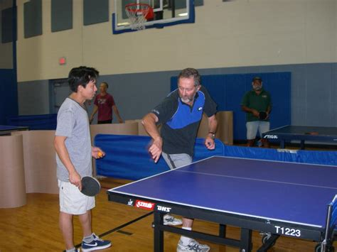 table tennis coach gary fraiman