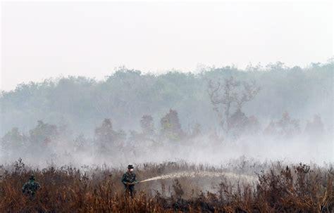 foto cerita  balik kabut asap melawanasap