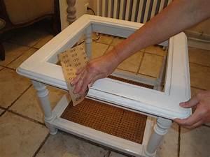 Patiner Un Meuble En Blanc : customiser une vieille table mode d emploi ~ Dailycaller-alerts.com Idées de Décoration
