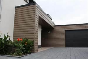Fassade Mit Blech Verkleiden : ideen zu fassaden an der garage ~ Watch28wear.com Haus und Dekorationen