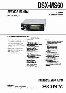 Sony Dsx Ms60 Wiring Diagram