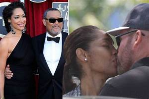 After Seen Kissing Another Man Laurence Fishburne's Wife ...