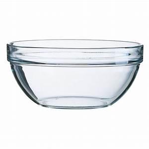 Saladier En Verre : saladier en verre 23 cm empilable la table d 39 arc ~ Teatrodelosmanantiales.com Idées de Décoration