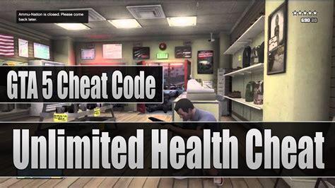 Invincible/unlimited Health Cheat Code