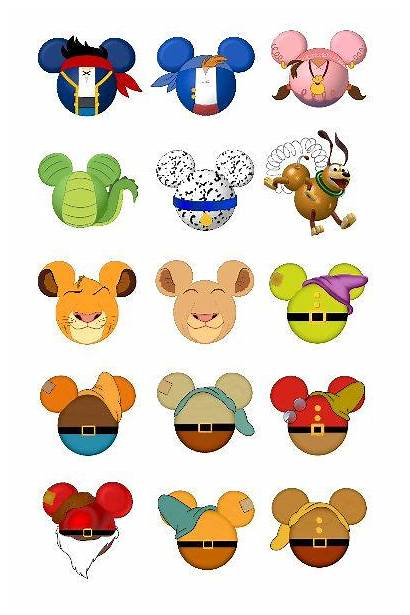 Mickey Head Disney Character Mouse Inspired Characters