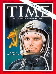 TIME Magazine Cover: Yuri Gagarin - Apr. 21, 1961 - Russia - Cosmonauts - Space Exploration