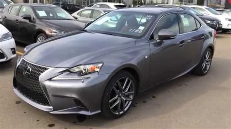 lexus gray new grey on rioja red 2015 lexus is 350 4dr sdn awd f