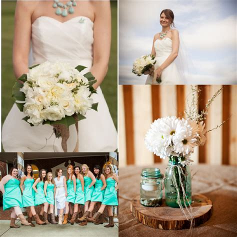 country wedding colors turquoise wedding ideas rustic wedding chic