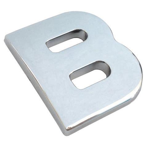 Adesivi Lettere by Adesivi Lettere E Numeri D Gear Cromato 20x25x3mm