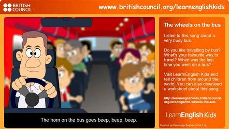 wheels   bus nursery rhymes learn english kids