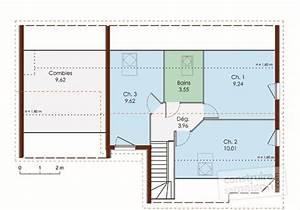 maison a ossature bois detail du plan de maison a With faire un plan de maison 2 une maison en ossature bois detail du plan de une maison