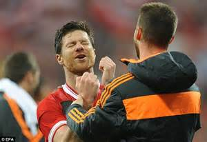 Xabi Alonso is suspended for Champions League final... and ...