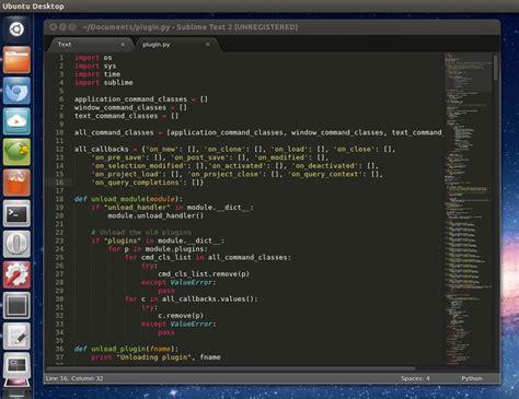sublime text 2 a fast fancy text editor omg ubuntu