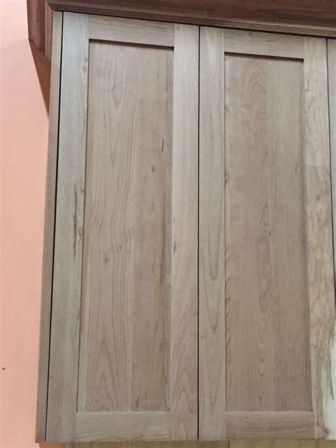 Shaker Cabinet Doors Unfinished by Unfinished American Cherry Shaker Kitchen Cabinets