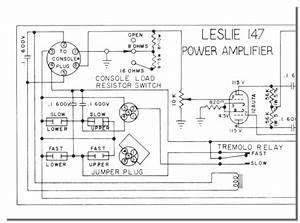 Leslie Speaker Wiring Diagram. servicing the leslie 122 ... on