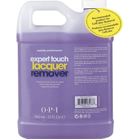 opi expert touch remover 960ml opi expert touch lacquer remover 32floz 960ml al417