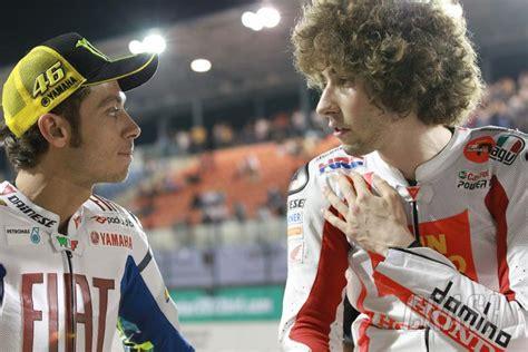 motogp gossip rossi continued racing  honour simoncelli