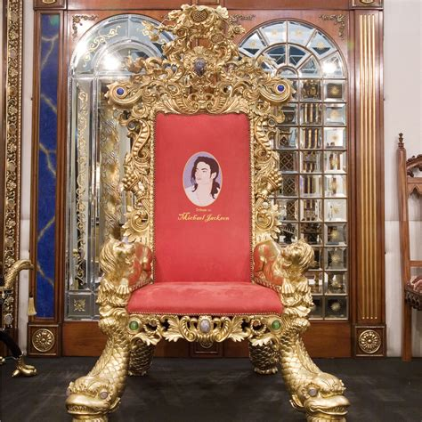 michael jackson throne camerin
