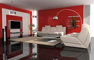 ordinaire idee deco peinture salon moderne 2 peinture With peinture interieur maison moderne