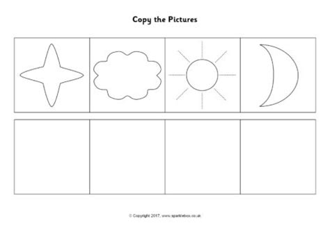 copy the pictures worksheets sb12184 sparklebox