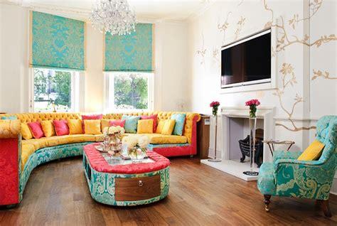 soggiorno stile etnico come arredare un soggiorno con mobili e decorazioni