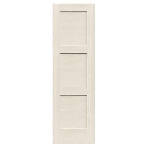 reliabilt 3 panel solid wood interior slab door lowe s