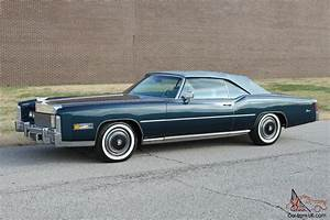 Cadillac Eldorado Cabriolet : 1976 cadillac eldorado convertible with on 7 000 miles ~ Medecine-chirurgie-esthetiques.com Avis de Voitures