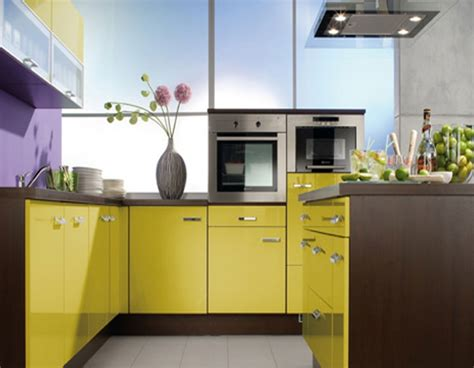 small kitchen paint ideas small kitchen with yellow color scheme compact