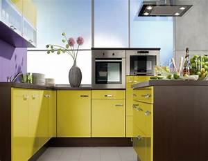 sweet small kitchen with yellow color scheme using compact With what kind of paint to use on kitchen cabinets for inspiring wall art