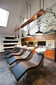 Industrial Hair Salon Ideas