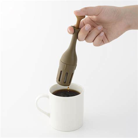aozora mini coffee press worlds  portable coffee maker