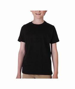 Next Level Black Boys T-Shirt