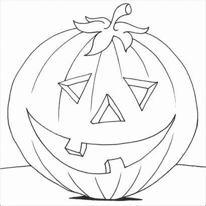 Pumpkin Coloring Pages Drawing Benefits Preschoolers