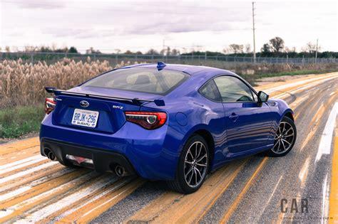 sporty subaru review 2017 subaru brz sport tech canadian auto review