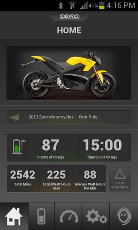 bike app android zero motorcycle launches ios and android app for its