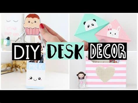 diy desk decor organization ideas youtube