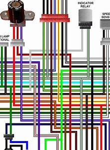 Honda Vtx1300s 2002 Uk Spec Colour Electrical Wiring Diagram
