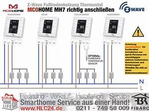 Wie Hoch Ist Der Aufbau Einer Fußbodenheizung : z wave fu bodenheizung thermostat mcohome mh7 richtig ~ Articles-book.com Haus und Dekorationen