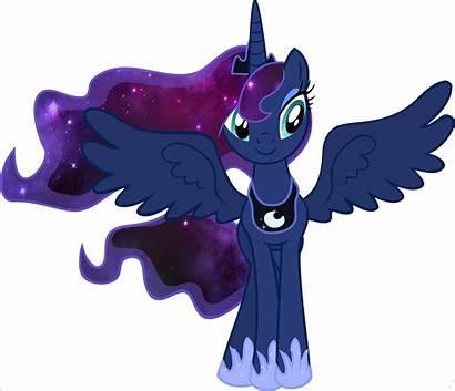 Galaxy Mane Ponies Pony Luna Mlp