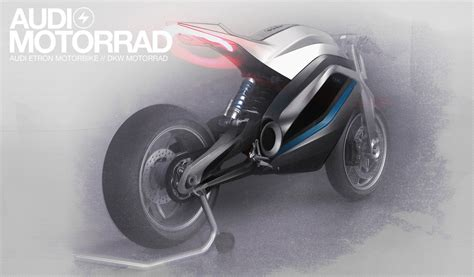 Audi Shows Very Cool Motorcycle Concept