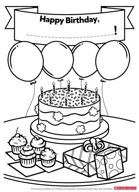 homemade birthday card worksheets  printables