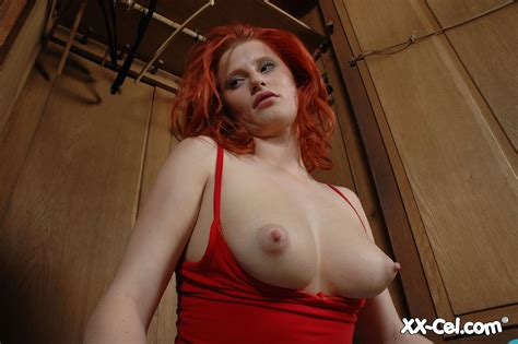 Hot Redhead Hottie Milking Her Unbelievable Golden Bbw