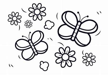 Coloring Vector Animals Animal Colouring Clipart Line