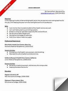 Dental Receptionist Resume Skills Medical Receptionist Resume Sample Resume Examples