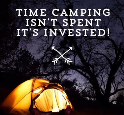 famous camping quotes  quotations golfiancom