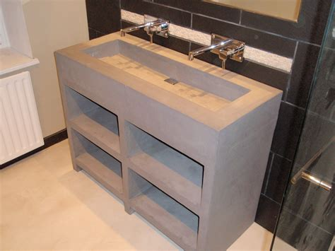 realiser sa cuisine fabriquer meuble salle de bain beton cellulaire cool