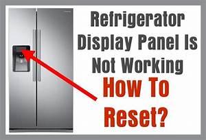 Refrigerator Display Panel Is Blank Not Working