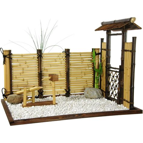 furniture zen bamboo mini garden ebay