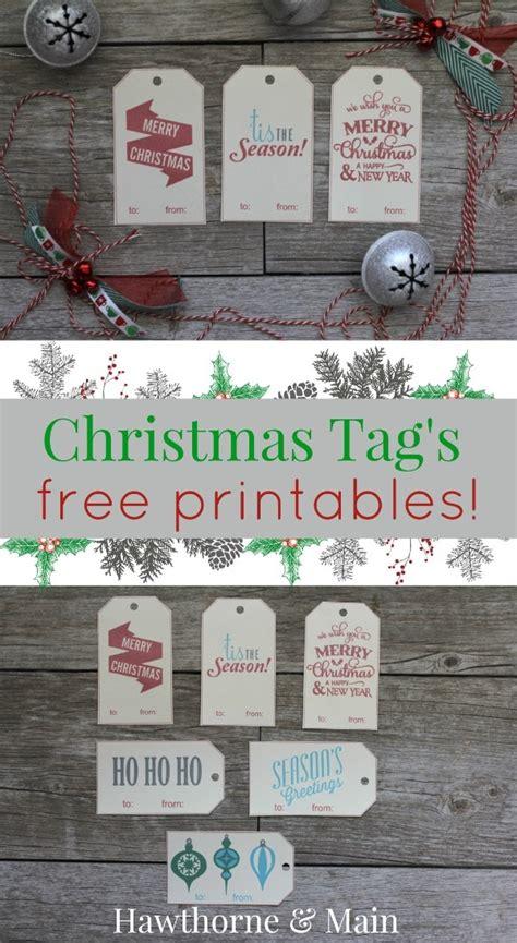 free christmas gift tag printables whistle and ivy